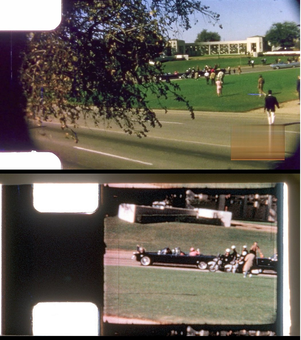 Robin Unger\'s JFK Assassination Images: Bronson / Nix frame sync